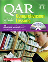 QAR Comprehension Lessons: Grades 6-8 (August 2011) Sch4112