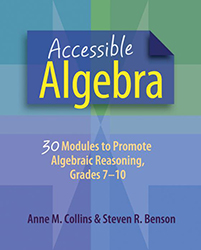 Accessible Algebra Sten0668