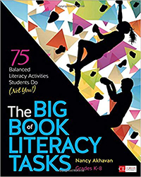 Big Book of Literacy Tasks, Grades K-8 CPL9639