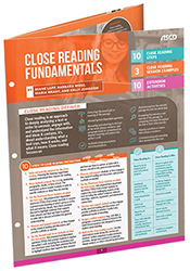 Close Reading Fundamentals (Quick Reference Guide) ASCD4110