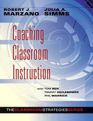 Coaching Classroom Instruction MRL1269