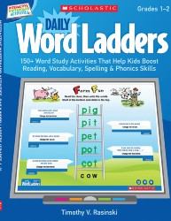 Daily Word Ladders: Grades 1-2 Sch4766