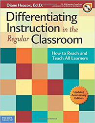 Differentiating Instruction in the Regular Classroom (Updated edition) (Book with CD-ROM) FS4163