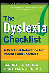 Dyslexia Checklist, The 9780470429815