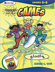 Engage the Brain: Games, Language Arts, Grades 6-8 CP9278