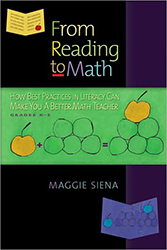 From Reading to Math 9781935099048