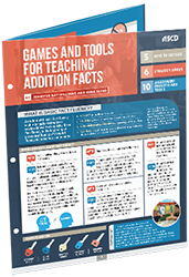 Games and Tools for Teaching Addition Facts (Quick Reference Guide) ASCD5193