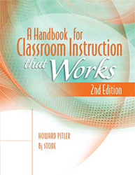 Handbook for Classroom Instruction That Works, A (2/e) ASCD4685