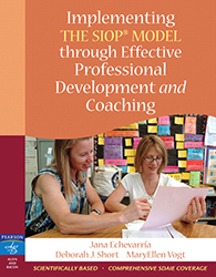 Implementing the SIOP Model Through Effective Professional Development and Coaching 9780205533336