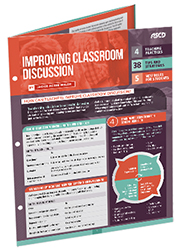 Improving Classroom Discussion (Quick Reference Guide) ASCD3649