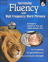Increasing Fluency with High Frequency Word Phrases, Grade 4 9781425802790