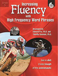 Increasing Fluency with High Frequency Word Phrases, Grade 5 Shell2899