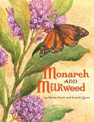 Monarch and Milkweed SS0856