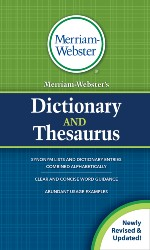 Merriam-Webster's Dictionary and Thesaurus (Revised, Updated) MW8637