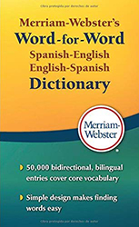 Merriam-Webster's Word-For-Word Spanish-English Dictionary MW2970