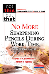 No More Sharpening Pencils During Work Time and Other Time Wasters Hein6609