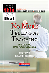 No More Telling As Teaching Hein2447