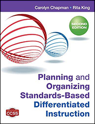 Planning and Organizing Standards-Based Differentiated Instruction (2/e) CP9594