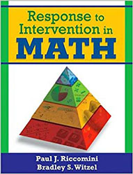 Response to Intervention in Math 9781412966351