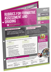 Rubrics for Formative Assessment and Grading (Quick Reference Guide) ASCD3533