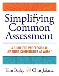 Simplifying Common Assessment Sol4453