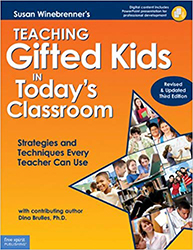Teaching Gifted Kids in Today's Classroom (3/e Revised & Updated) (Book + CD Rom) FS3951