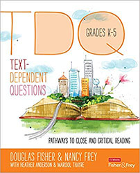 Text-Dependent Questions, Grades K-5 CPL1317