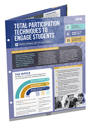 Total Participation Techniques to Engage Students (Quick Reference Guide) ASCD3519
