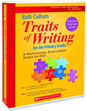 Traits of Writing for the Primary Grades (DVD) 9780439894708