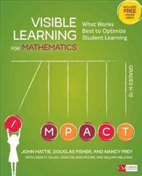 Visible Learning for Mathematics, Grades K-12 CP2946