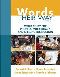 Words Their Way: Word Study for Phonics, Vocabulary, and Spelling Instruction, 6/e PE6333