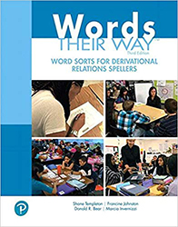 Words Their Way: Word Sorts for Derivational Relations Spellers, (2/e) PE5784