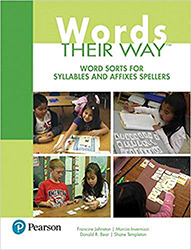 Words Their Way: Word Sorts for Syllables and Affixes Spellers (3/e) PE0710