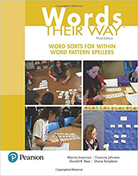 Words Their Way: Word Sorts for Within Word Pattern Spellers PE5681